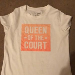 A regular shirt for your daughter to rock off with